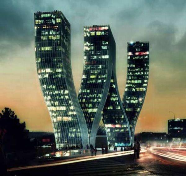 Необычные здания (32 фото)