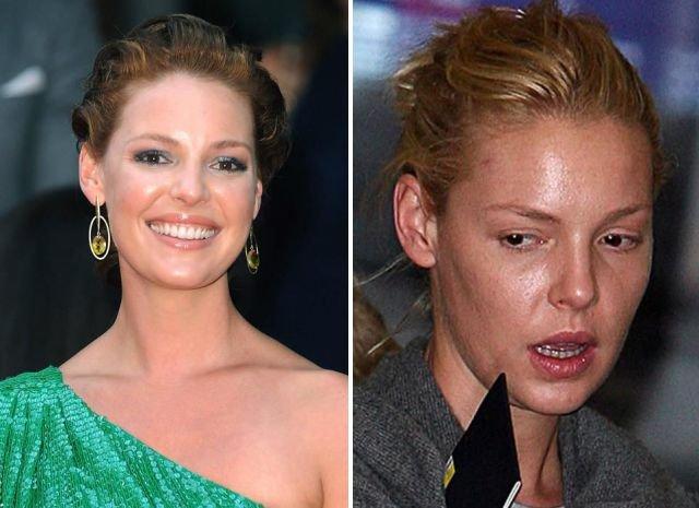 Звезды без макияжа (10 фото)