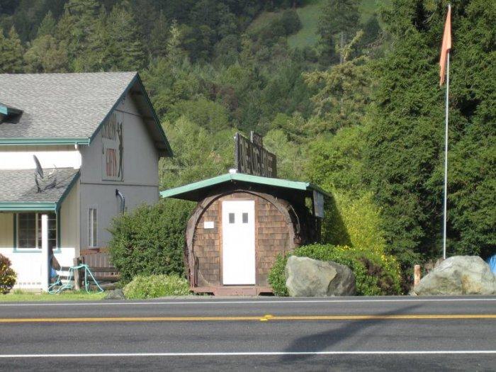 Дом из целого дерева (11 фото)