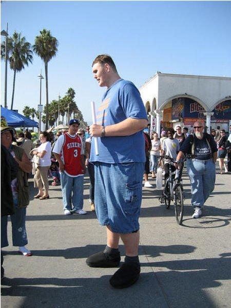 Самый высокий американец (30 фото)