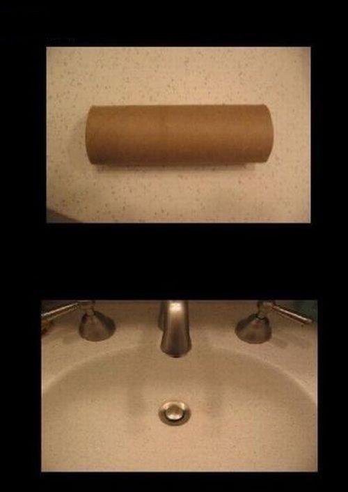 Прикол в туалете (10 фото)