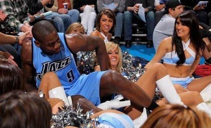 Забавные спортивные фотографии (40 фото)