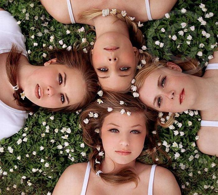 Подборка красивых девушек (95 фото)