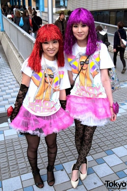 Японские фанатки Леди Гаги (79 фото)