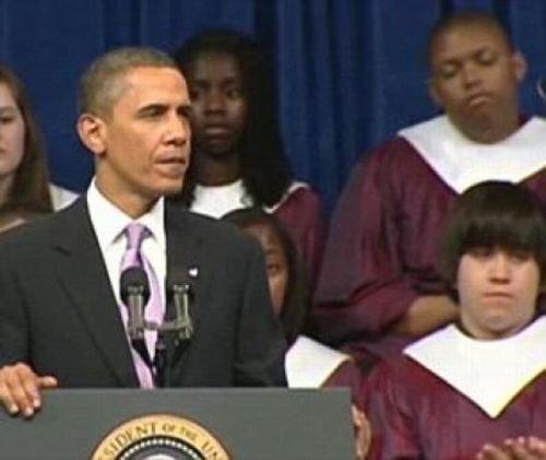 От Обамы клонит в сон (7 фото)