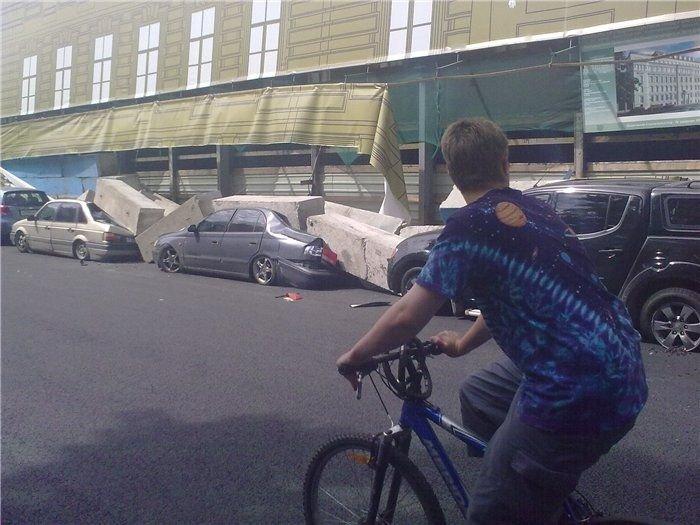Неудачная парковка (7 фото)
