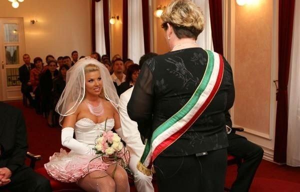 Необычная свадьба (35 фото)