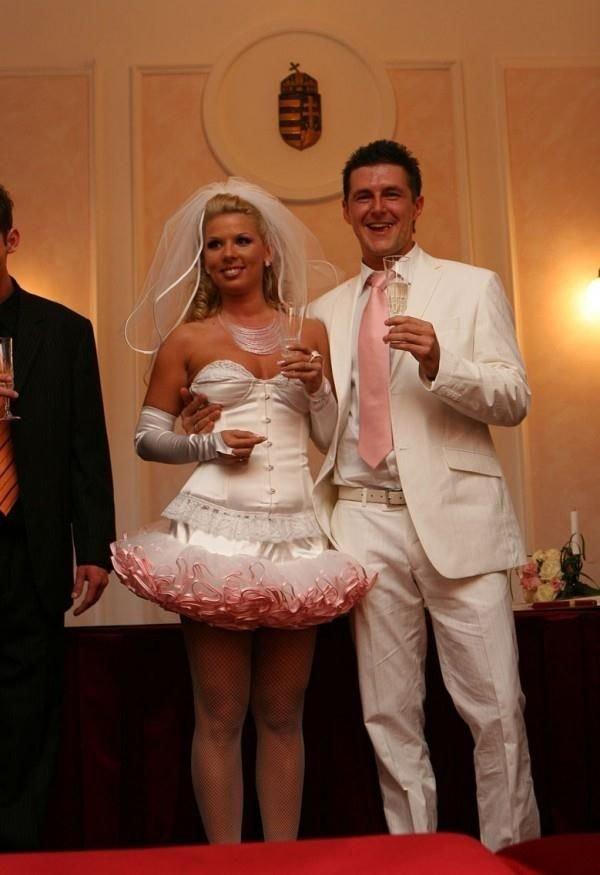 Как из обычного сделать свадебное