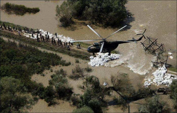 Наводнения в Европе (40 фото)
