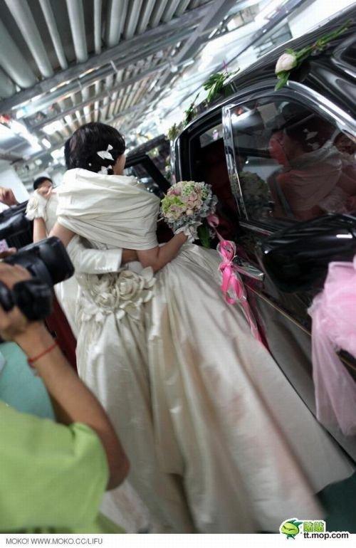 Крутая свадьба в Китае (20 фото)