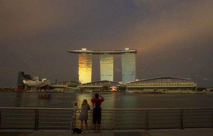 Новая гостиница в Сингапуре (10 фото)