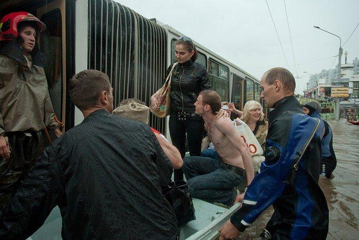 Минск затопило (30 фото)