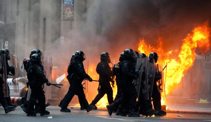 Протесты против G20 (25 фото)