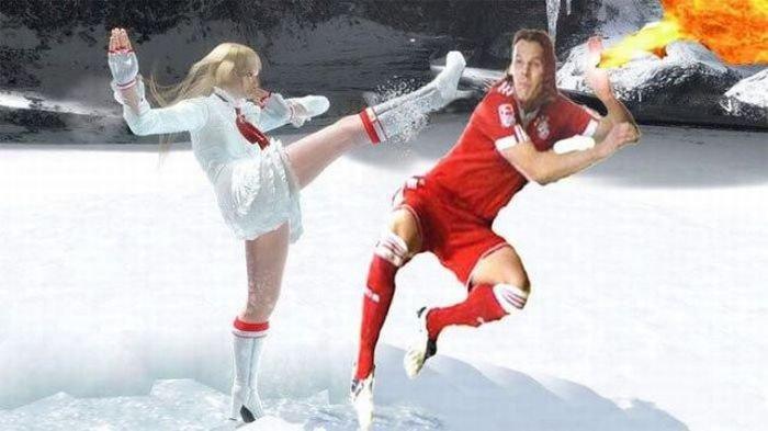 Фотожаба футболиста (18 фото)