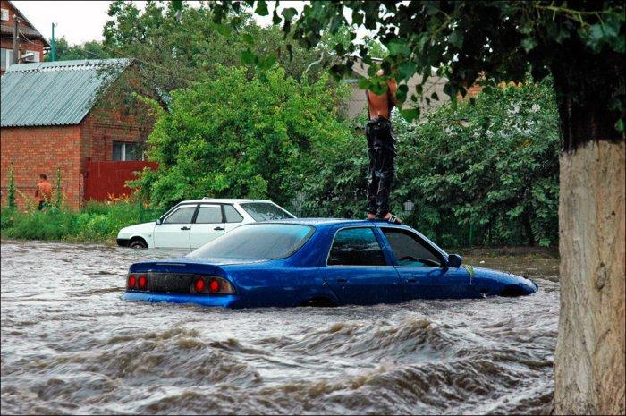 После дождя в Ростове (15 фото)