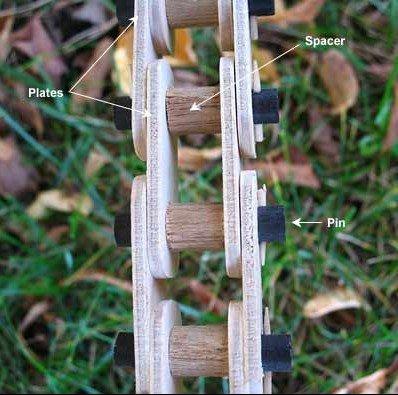 Велосипеды из дерева (9 фото)