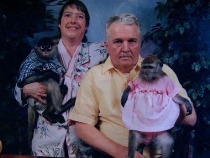 Странные фотографии с животными (30 фото)
