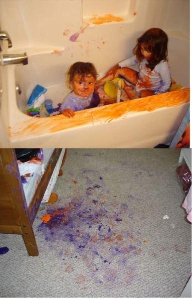 Дети, оставленные без присмотра (28 фото)