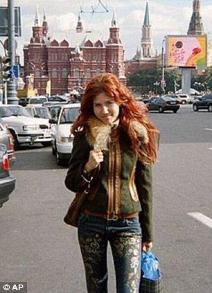 Русская шпионка Анна Чапман (18 фото)