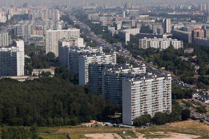 Пролетая над Москвой (42 фото)