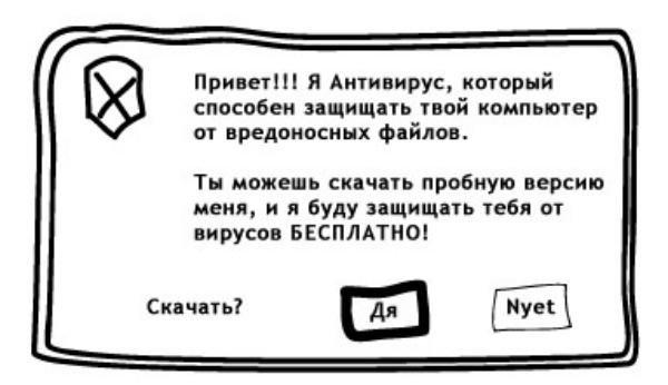 Про бесплатный антивирус (2 фото)