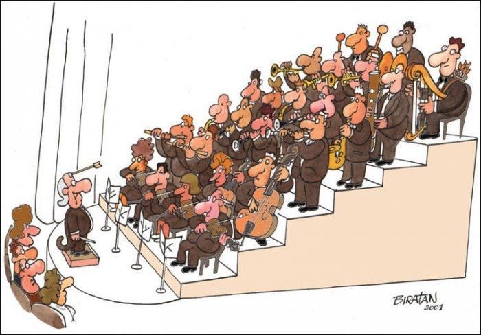Карикатуры (30 фото)