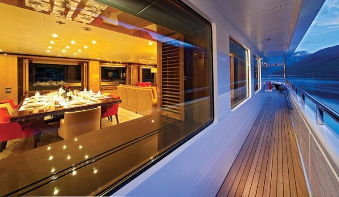 Amels - Bel Abri - классная голландская яхта (20 фото)