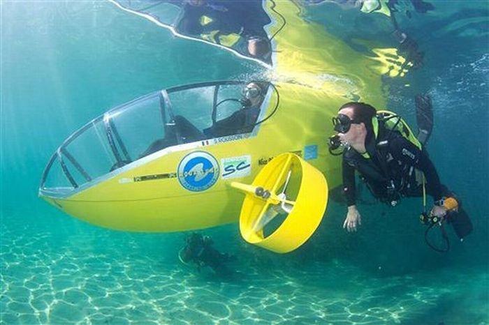 Подводный велосипед (3 фото)
