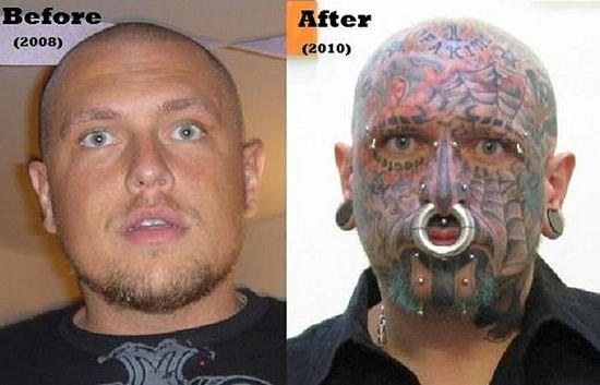 Как парень изменился за два года (11 фото)