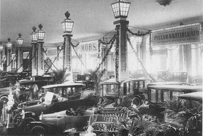 Первый российская выставка автомобилей (15 фото + текст)