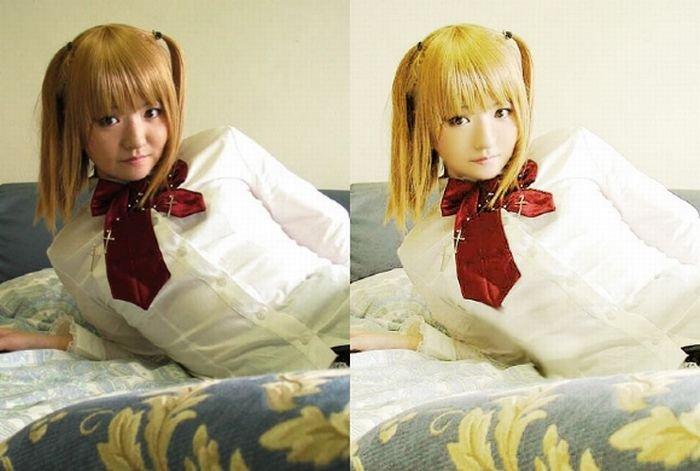 До и после фотошопа (31 фото)