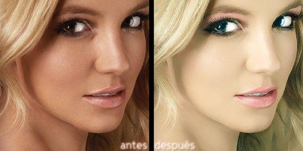 Знаменитости до и после фотошопа (47 фото)