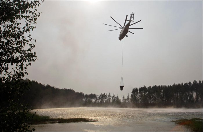 Российские пожары (35 фото)