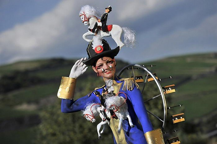 Фестиваль бодиарта в Австрии (70 фото)