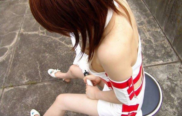 Засветы японских девушек. Часть 2 (55 фото)