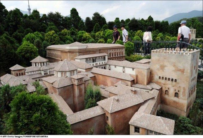 Самые известные здания в миниатюре (14 фото)