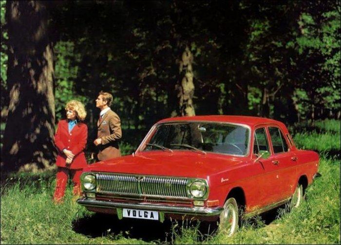 Реклама автомобилей в СССР (24 фото)