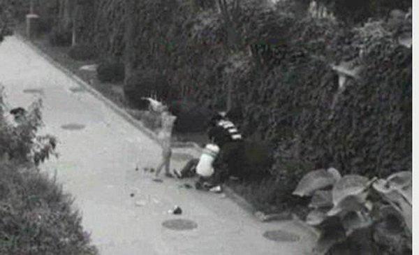 Неудачное ограбление (4 фото)