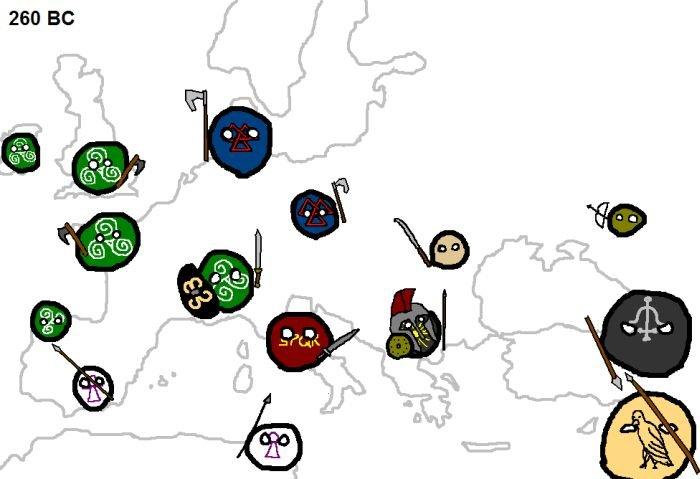 войны в европе
