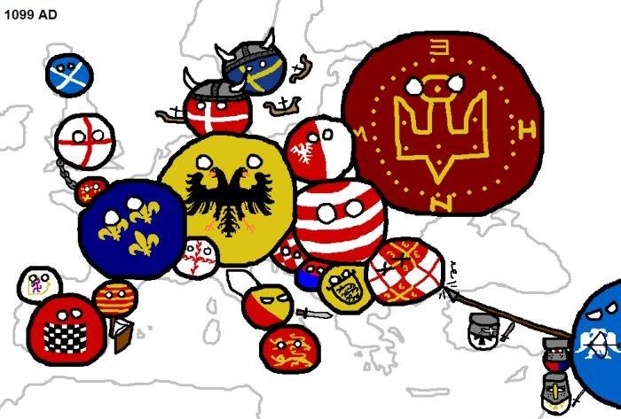 Войны в Европе (14 фото)