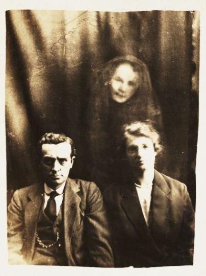 Призраки на спиритических сеансах конца 19 и начала 20 века (22 фото)