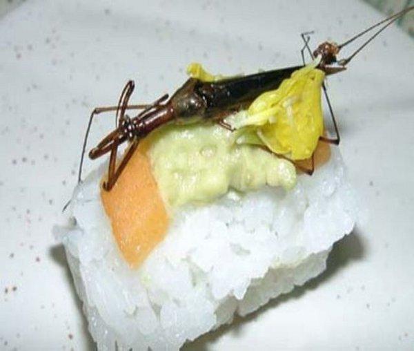 Необычные суши (12 фото)