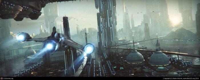 Города будущего (28 фото)