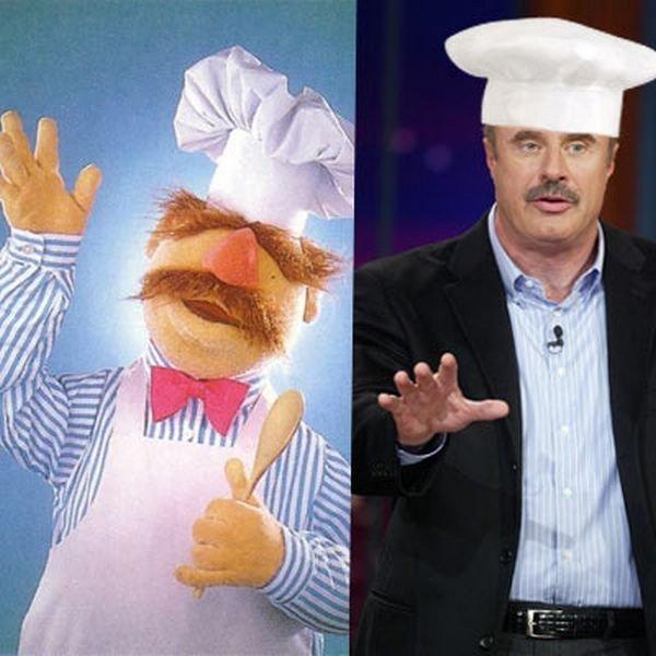 Куклы из Muppet Show и их двойники (30 фото)