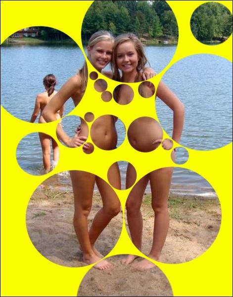 Пузыринг или как раздеть девушек на фотографиях (18 фото)