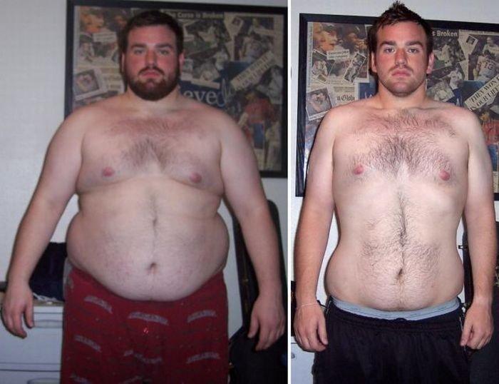Парень, который смог похудеть (48 фото)