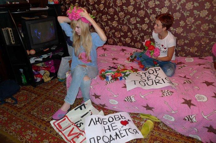Femen изнутри (32 фото + текст)