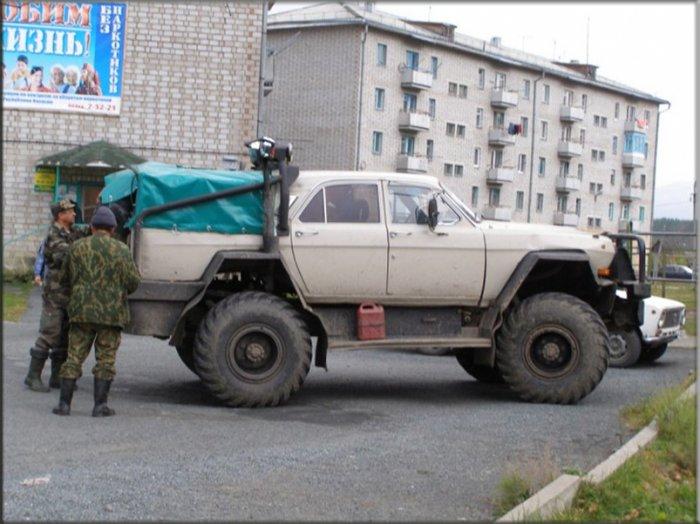 Монстры отечественного тюнинга (20 фото)