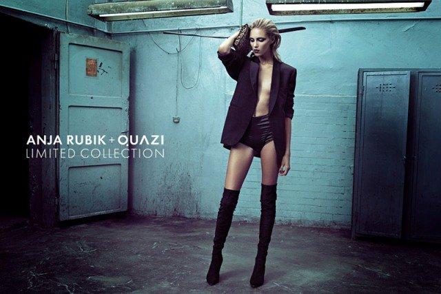 Аня Рубик для коллекции Quazi (15 фото)