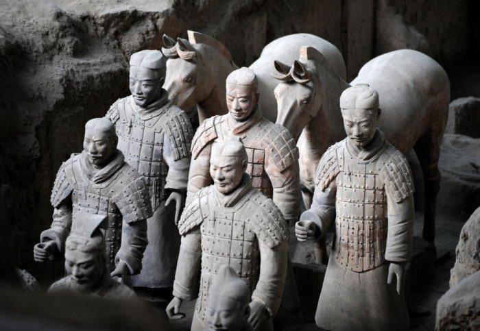 Терракотовая армия китайского императора (20 фото + текст)